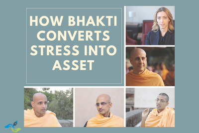 Why Bhakti is the best way to handle stress