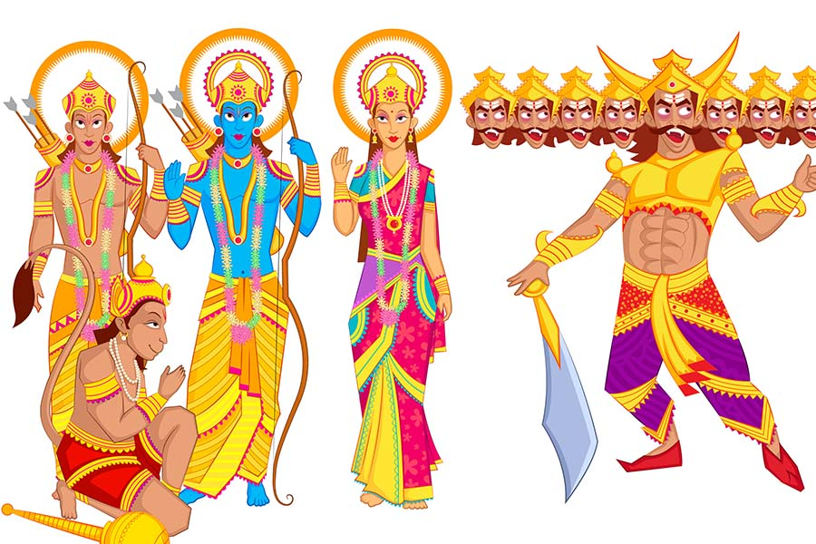 ramayana and lord rama Lord rama, the hindu god, is the hero of one of the most well known and  cherished books of indian culture: the ramayana this story has been passed  down.